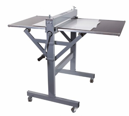 Paperfox HA-2 table with support frame for H-1