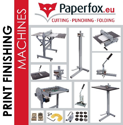 Print finishing machines