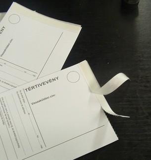 making receipt